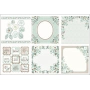 Winter Rose Decorative Panels and Die-cuts