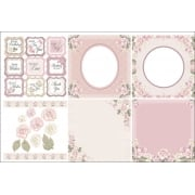 Vintage Rose Decorative Panels and Die-cuts