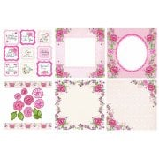 Rose Garden Decorative Panels and Die-cuts