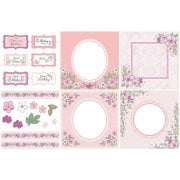 Sweet Blossom Decorative Panels and Die-cuts