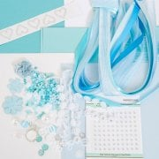 Sea Blue Embellishment Collection