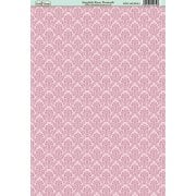 English Rose Damask Paper