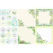 Spring Blooms Decorative Panels and Die-cuts SLIGHT SECONDS