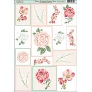 Peony Bouquet Element Sheet