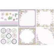 Summer Wish Decorative Panels and Die-cuts