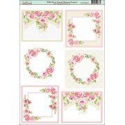 Wild Rose Floral blooms Topper