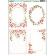 Wild Rose A6 Decorative Panels Set 2