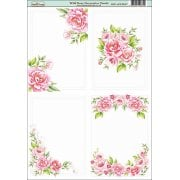 Wild Rose A6 Decorative Panels