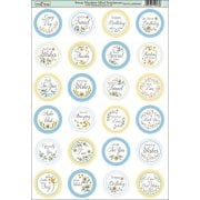 Sweet Meadow Die-Cut Mini Circle Sentiments SLIGHT SECONDS