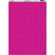 Classic Cerise Pink Spot Paper SLIGHT SECONDS