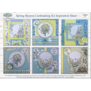 Spring Blooms Card Making Kit SLIGHT SECONDS (UK DELIVERY ONLY)